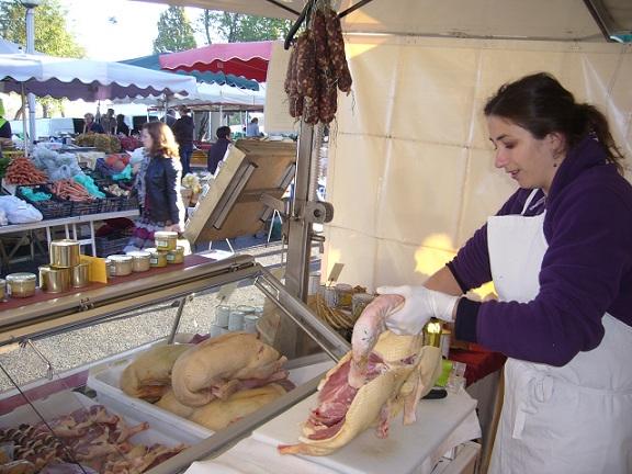 Ferme de Ramon Marchés Gironde Bérangère producteur foie gras 3