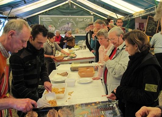 Ferme de Ramon foie gras foire à la ferme cuissons