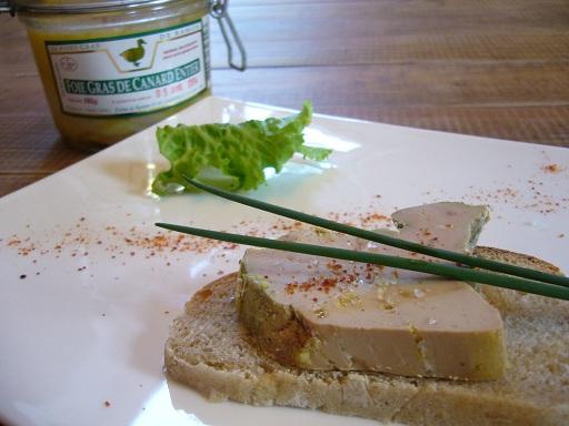 Foie gras entier Ferme de Ramon