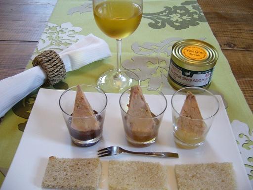 Foie gras mi-cuit Ferme de Ramon