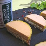 Fondant au foie gras Ferme de Ramon producteur sud ouest