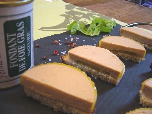 Fondant de foie gras ferme de Ramon producteur Sud Ouest