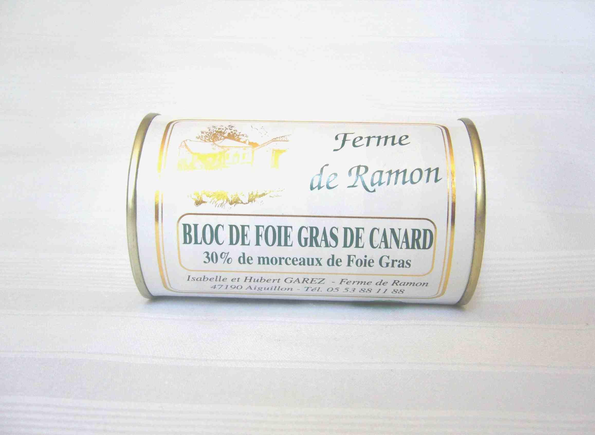 Produit - Bloc grand - Producteur foie gras