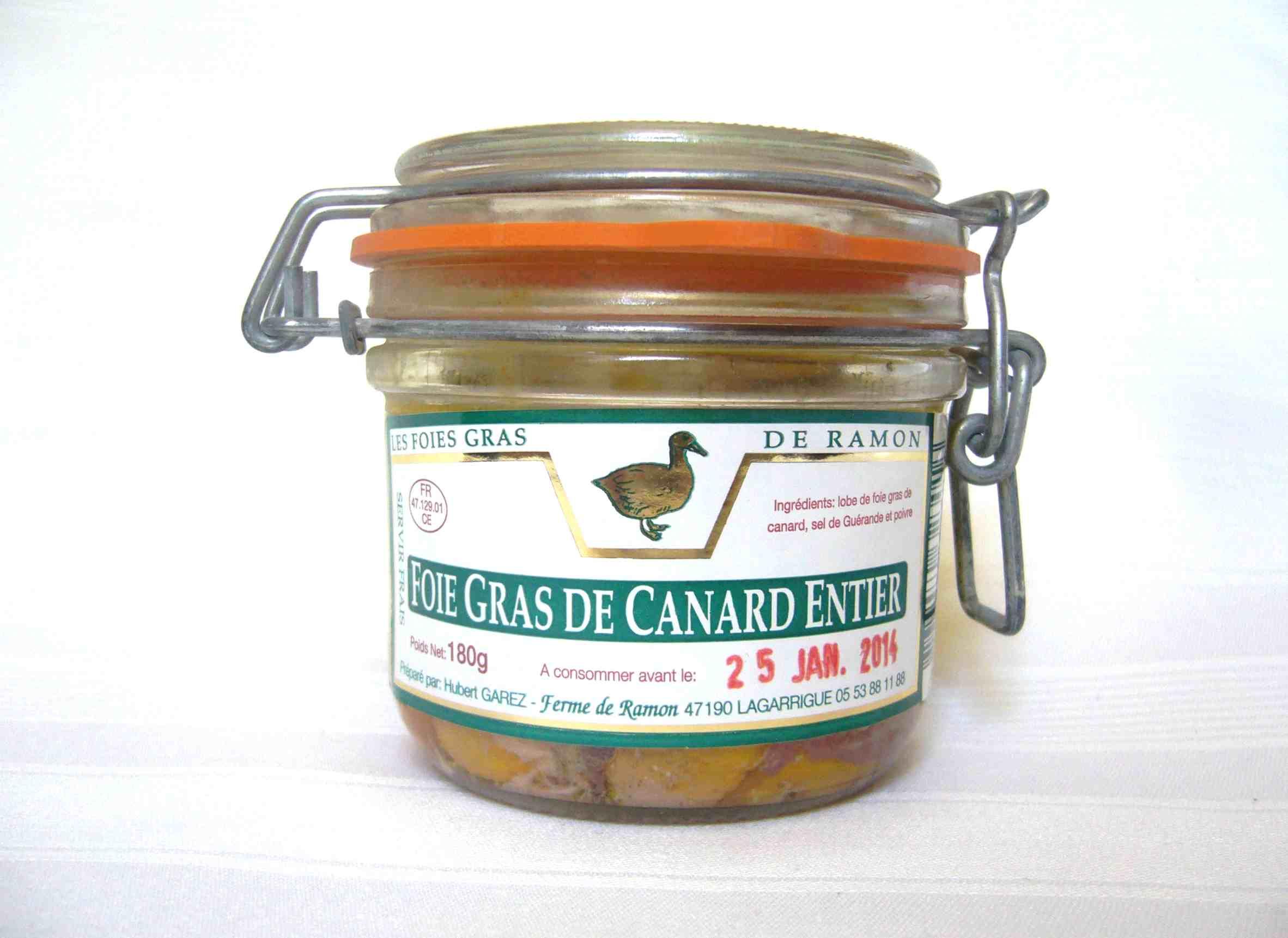 Produit - Foie gras moyen - Producteur foie gras