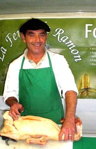 Yves marché Gironde Ferme de Ramon foie gras producteur